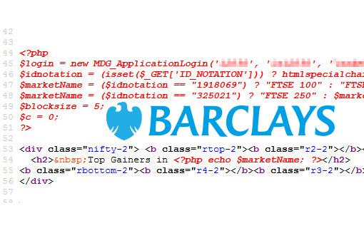 Barclays bank hacked